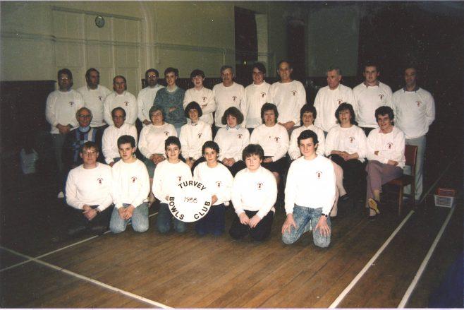 Turvey Bowls Club 1988