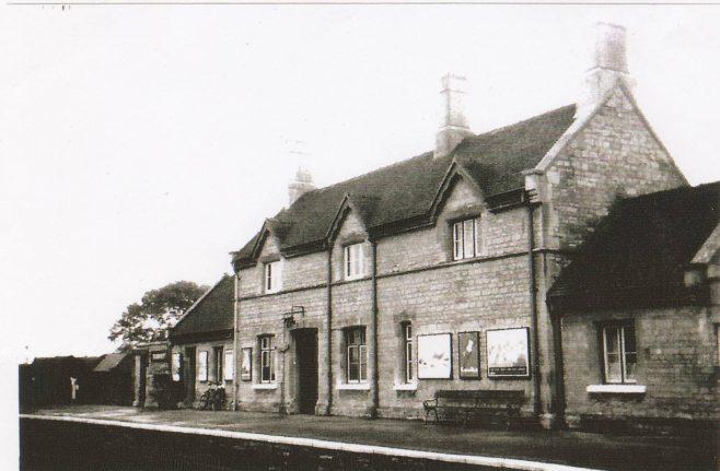 Turvey Station Building - Platform Side