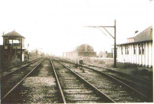 Turvey Station Goods Yard