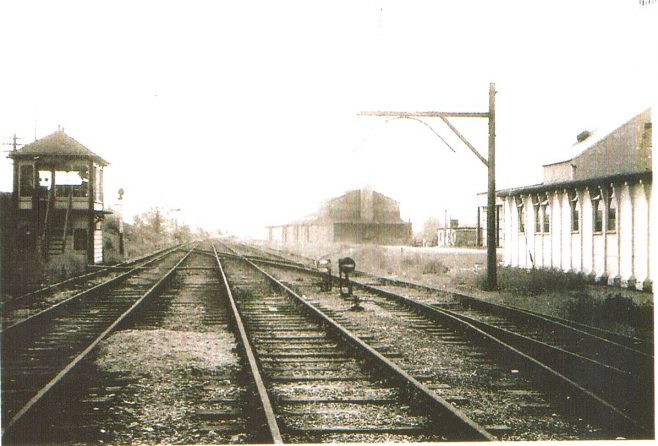Turvey Station Goods Yard