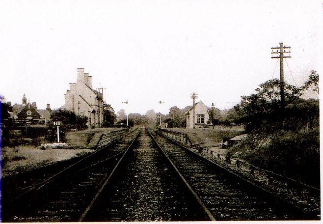 Turvet Station Platforms