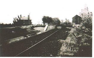Goods Dock at Turvey Station
