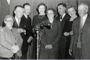 Wilfred Pickles with contestants from Have-A-Go