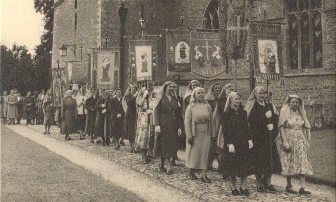 Women's Parade at All Saint's Church