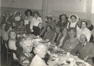 Silver Jubilee Tea Party in the Village Hall