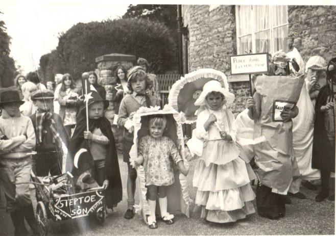 A Group of Children in Fancy Dress