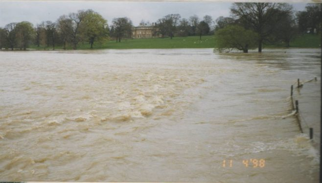 The River Great Ouse in Flood