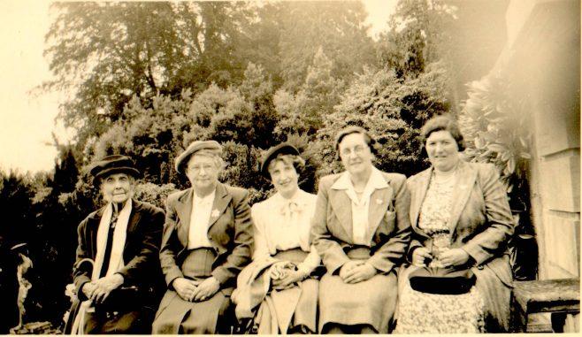 A Group of Women in a Garden