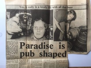 Paradise is pub shaped