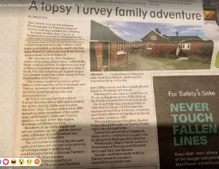 A topsy Turvey family adventure