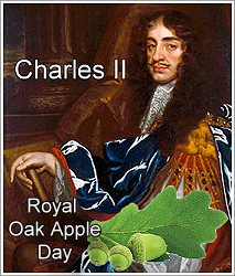 Oak Apple Day, 29th May