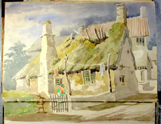 Thatched Cottage In Need Of Repair | Bradford Rudge