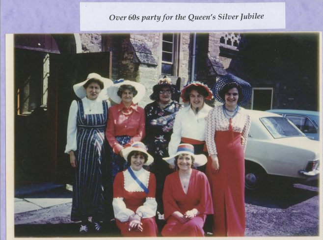 Dressed for the Queen's Silver Jubilee