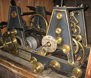 All Saints Church clock mechanism
