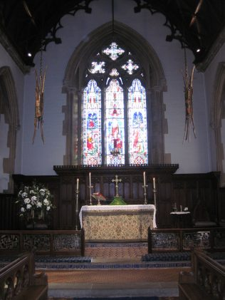 All Saints Turvey - the Chancel and Sanctuary | Jane Brewster