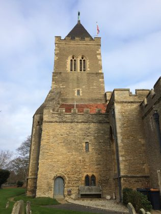 All Saints Turvey - the Tower | Jane Brewster