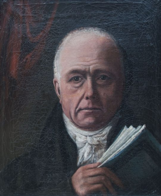 John Higgins Self Portrait 1836 Copyright J. Longuet-Higgins