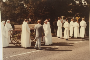 Funeral of Dom Edmund Jones. 1985 | Brother John