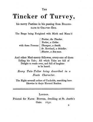 The Tinker of Turvey