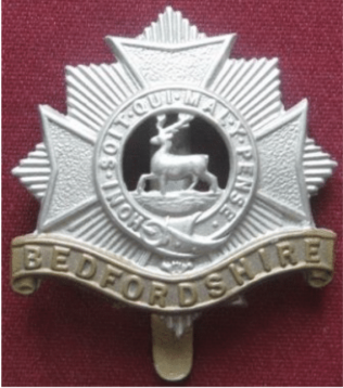 Badge of The Bedfordshire Regiment