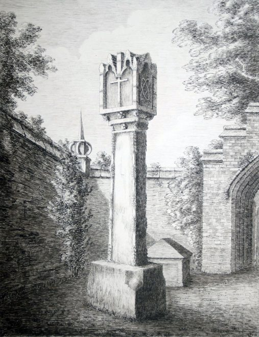 Turvey Abbey Obelisk