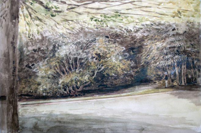 Turvey Abbey Garden
