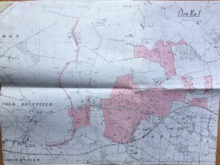 Turvey Abbey Estate Plan 1