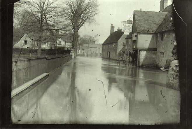 Bridge Street In Flood