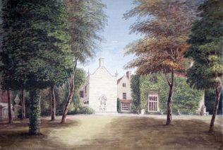 Turvey Abbey from the Garden