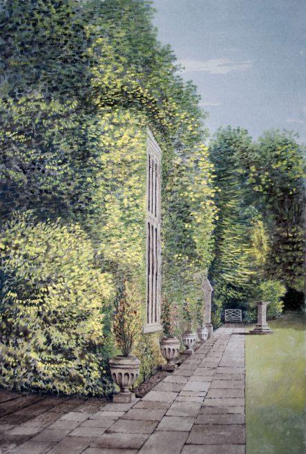 Turvey Abbey, the Pavement