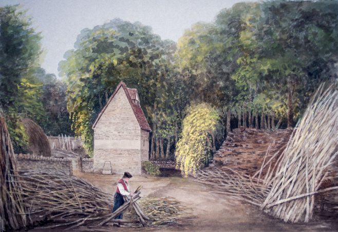 Turvey Abbey Pigeon House and Thomas King