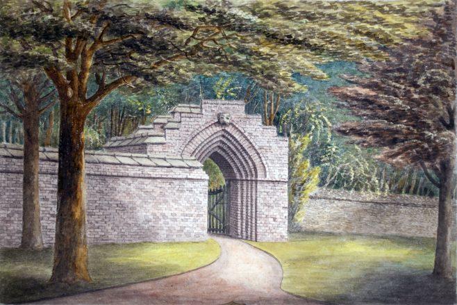 Turvey Abbey Garden Gate