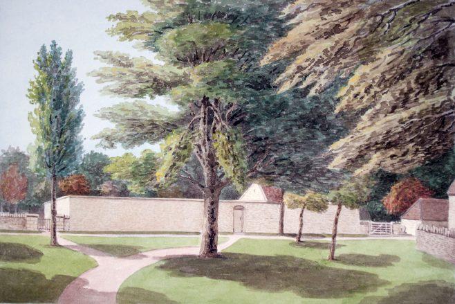 Turvey Abbey Kitchen Garden