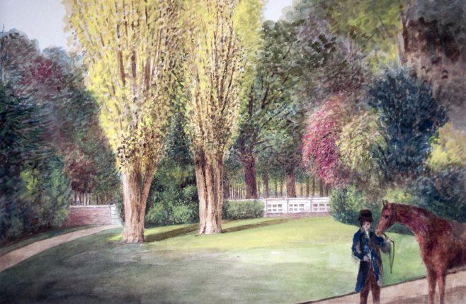Turvey Abbey Front Garden