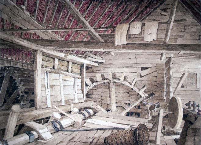 Turvey Mill interior