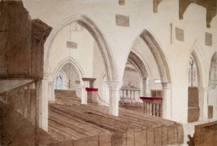 Turvey Church Interior