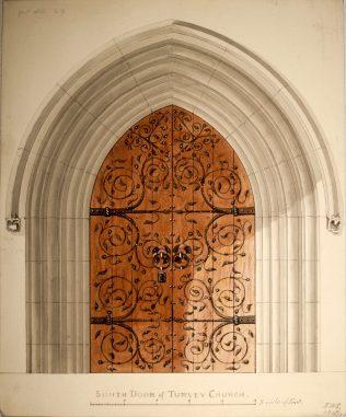 Turvey Church South Door