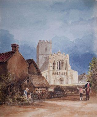 Felmersham Church, West Front