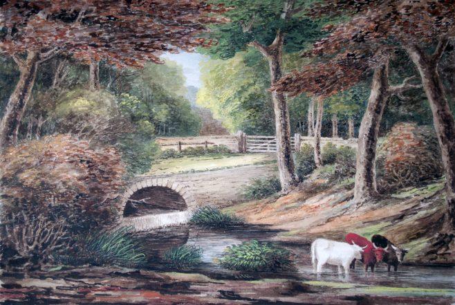 Rustic Bridge, Weston Park