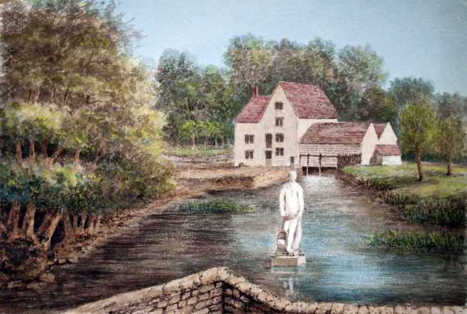 Turvey Mill and Jonah