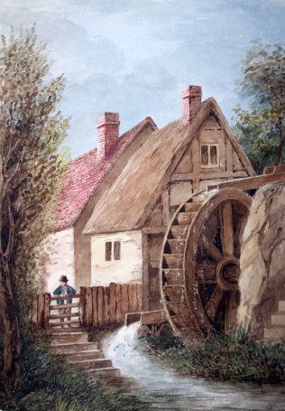 Timber Framed Watermill