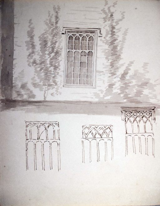 Studies for Library Window