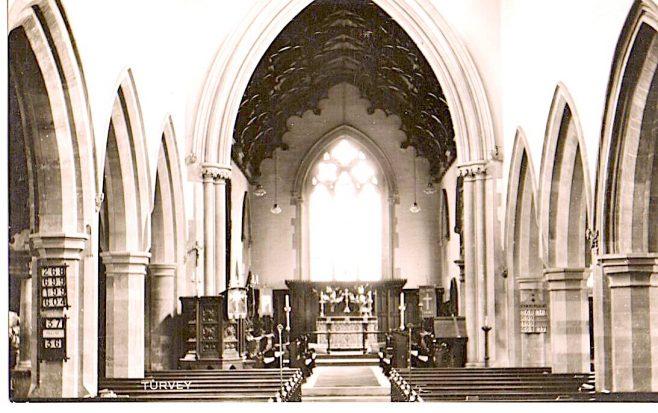 Interior of All Saints Church