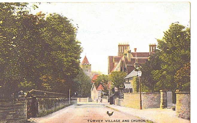 Turvey village and Church