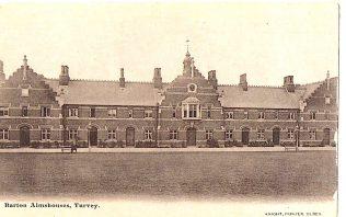 Barton Almshouses, Turvey
