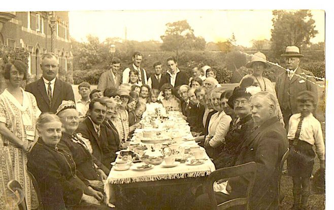 Tea Party at Barton and Royle Homes