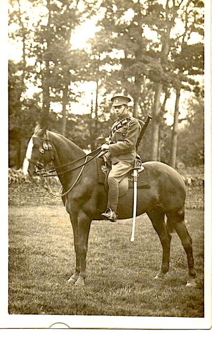 Hussar at Turvey Abbey
