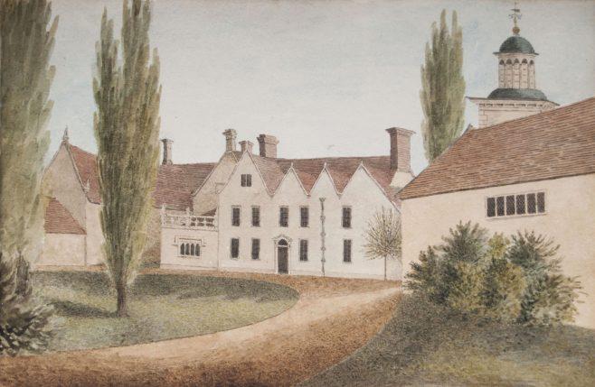 Turvey Abbey front