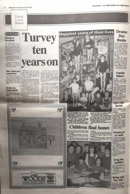 Turvey Lower School ten years on