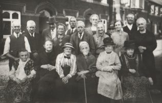 Residents of the Barton Almshouse